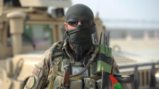 Ein Soldat der afghanischen Armee. (Archivbild)