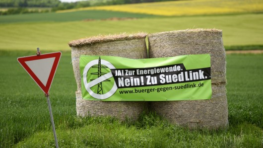 Die Landwirte in Niedersachsen sind über das Schreiben von Tennet verärgert. (Symbolbild)
