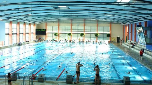 Das Wolfsburger BadeLand ist eines der größten Schwimmbäder der Region.