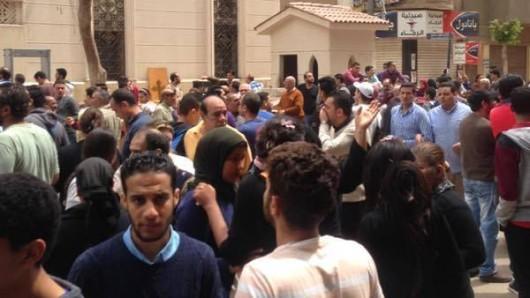 Die ägyptische Regierung spricht von Terror.