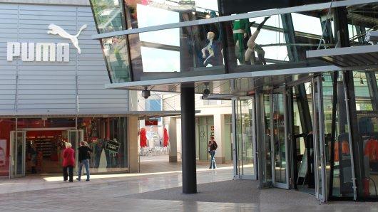 Das Designer Outlet in Wolfsburg. (Archivbild)