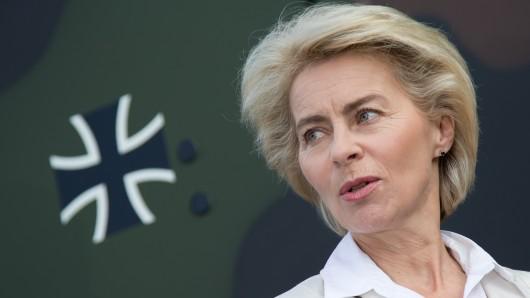 Verteidigungsministerin Ursula von der Leyen (CDU). (Archivbild)