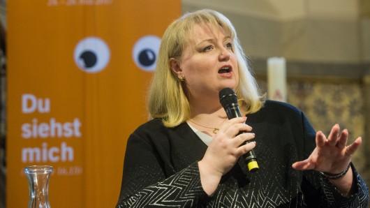 AfD-Politikerin Anette Schultner.