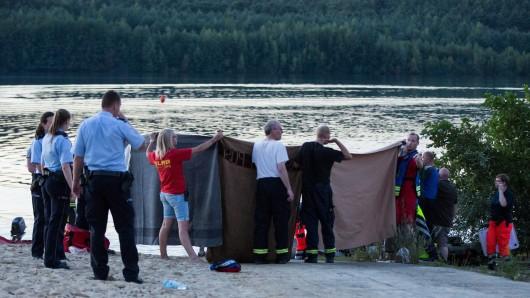 Bereits im August 2016 kam es in Haltern am See zu einem tödlichen Badeunfall. (Archivbild)