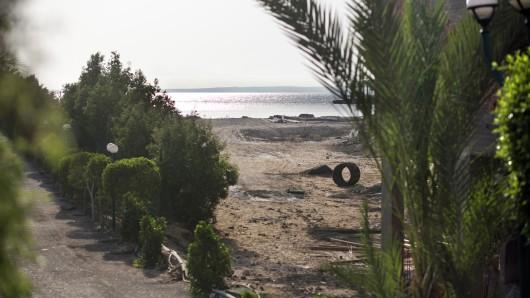 Blick auf den Strand in Hurghada, an dem das Attentat passierte.