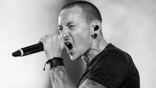 Chester Bennington, Sänger der band Linkin Park.