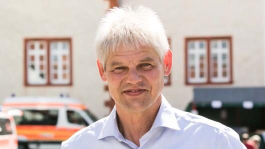 Oberbürgermeister Frank Klingebiel (CDU) beim Salzgitter-Tag.