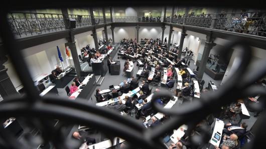 Der Landtag in Hannover. (Archivbild)