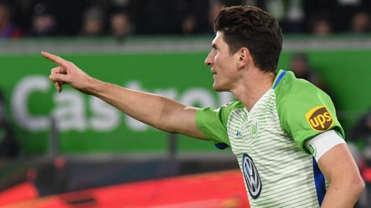 VfL-Stürmer Mario Gomez.