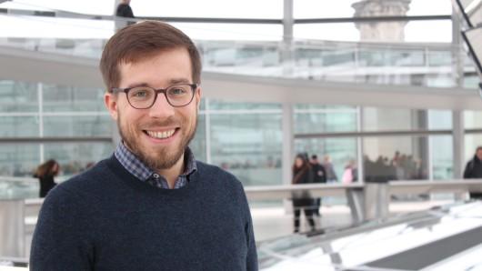 Victor Perli (Die Linke) im Bundestag.