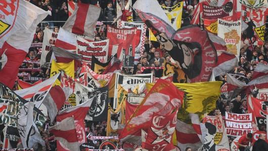 Fans des VfB Stuttgart. (Archivbild)