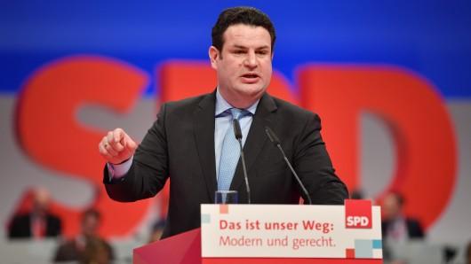 Der Vorsitzende des SPD-Bezirks Braunschweig, Hubertus Heil. (Archivbild)