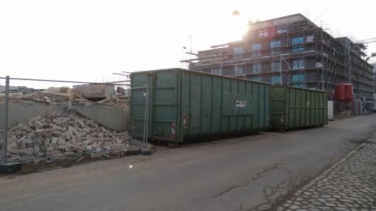 Im Baugebiet an der Gotenstraße kam es zu dem Unglück.