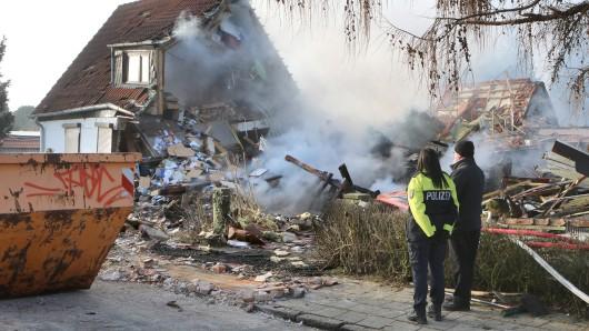 Die Explosion war wahnsinnig heftig.