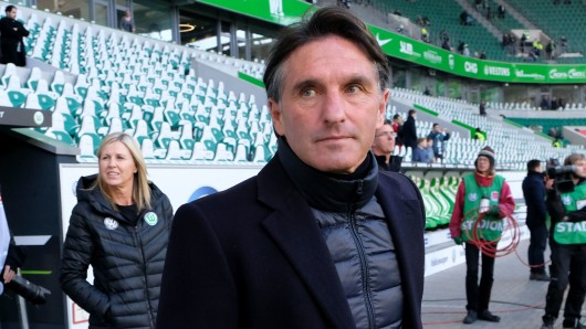 VfL-Coach Bruno Labbadia.