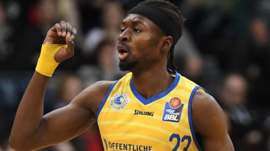 Wurde nach starker persönlicher Leistung letzten Endes doch nur Zweiter mit den A2 Basketball Herren: Bazou Koné (Archivbild)