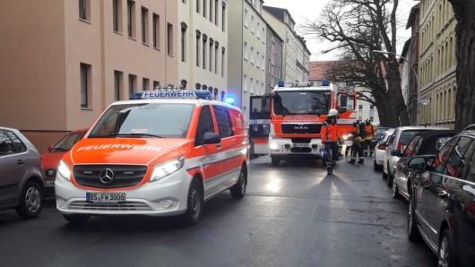 Einsatz für die Feuerwehr in der Odastraße.