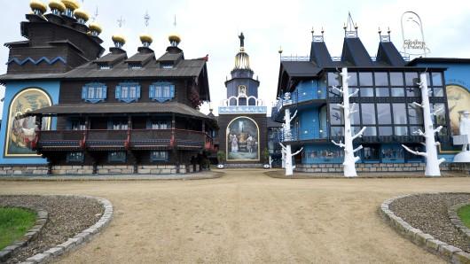 Der Glockenpalast, fotografiert im Jahr 2013.