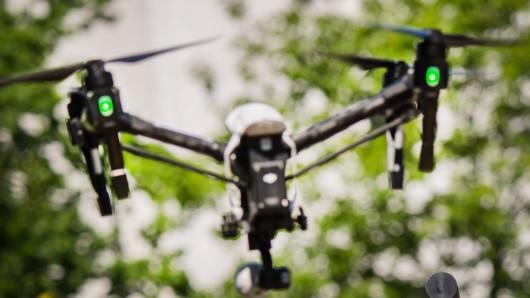 Die Einbrecher konnten mit einer Drohne flüchten (Symbolbild).