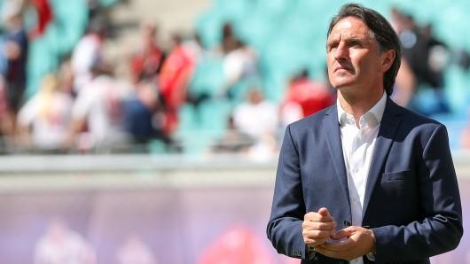 Wolfsburgs Trainer Bruno Labbadia will keinen Aktionismus vor dem Saisonfinale.