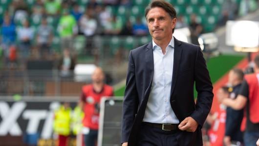 Bruno Labbadia kann sich vorstellen, auch länger beim  VfL Wolfsburg zu bleiben. (Archivbild)