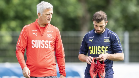 Schweiz-Trainer Vladimir Petkovic wird Admir Mehmedi vermissen.
