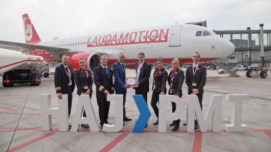 Laudamotion fliegt seit heute bis zu zweimal täglich ab Hannover nach Palma de Mallorca.
