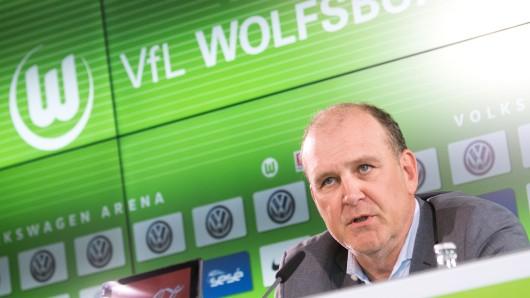Der neue Sport-Geschäftsführer Jörg Schmadtke bei seiner Vorstellung.