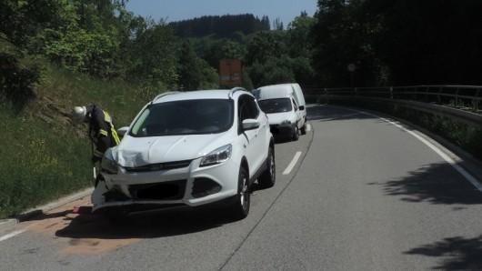 Schwerer Unfall am Dienstagnachmittag.