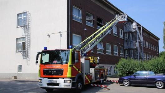Das Feuer war in einem Zimmer im zweiten Obergeschoss ausgebrochen.