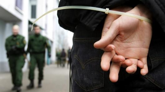 Nach seinem Angriff auf die Polizei kam der Mann in eine Fachklinik (Symbolbild).