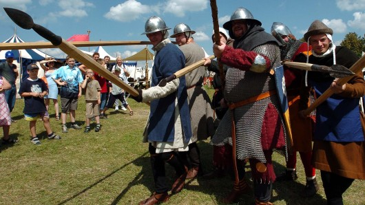 Die Besucher sollen eine echte Schlacht zu sehen bekommen (Symbolbild).