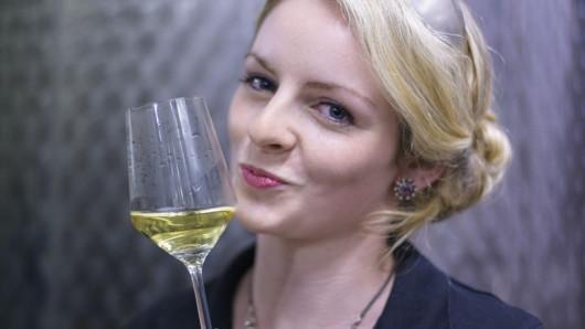 Mosel-Weinkönigin Kathrin Hegner verbringt ihr Wochenende in Braunschweig.