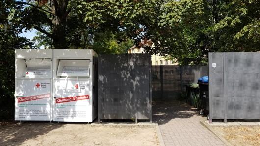 Gleich 22 neue Container gibt es in Wolfsburg.