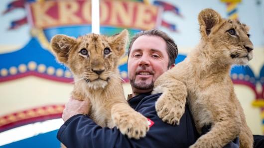 Tierschutz steht für uns an erster Stelle und im Circus Krone wird rund um die Uhr für das Tierwohl gesorgt, sagt Dompteur Martin Lacey jr.