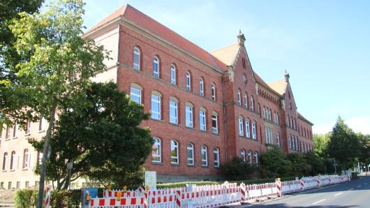 Die ehemalige Samson-Schule in Wolfenbüttel.