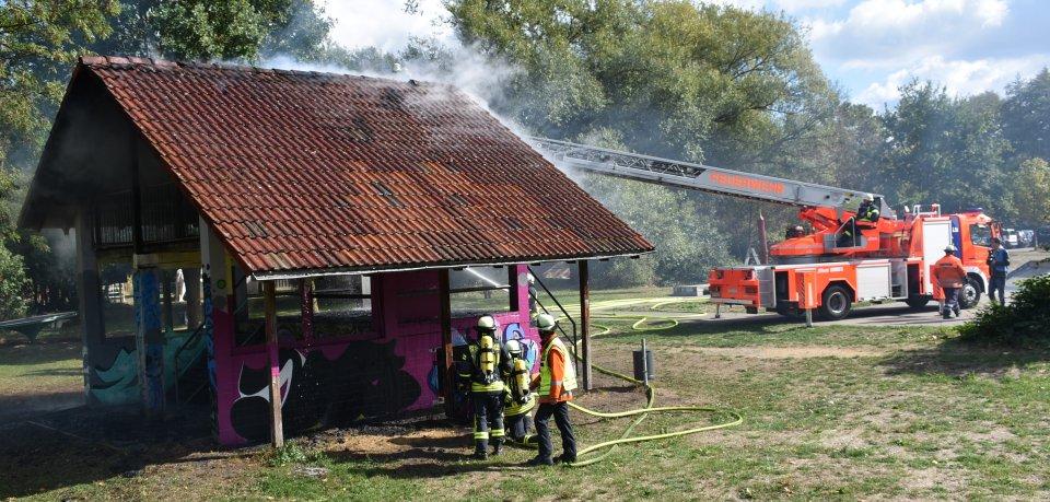 Gebäudebrand war ja nicht ganz falsch...