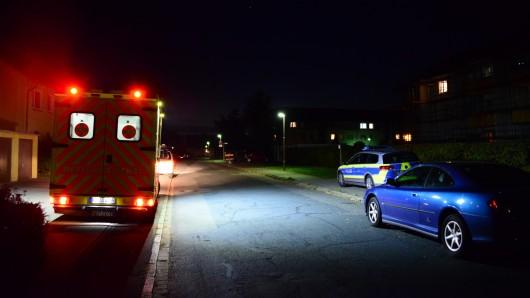 Mit diesem Rettungswagen kam die Frau ins Klinikum.