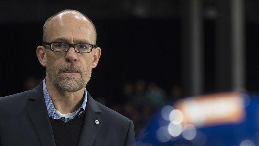 Hans Kossmann - hier noch als Zürich-Coach.