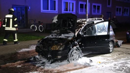 Der Wagen hatte in der Swindonstraße geparkt.