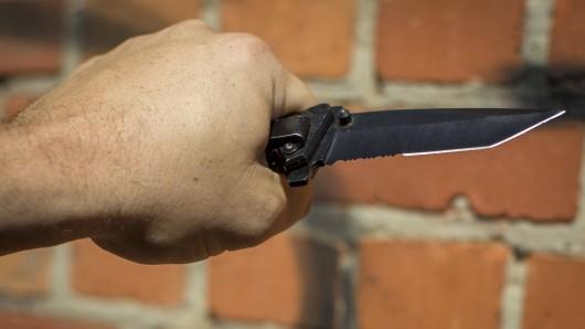 Wurde das Opfer mit einem Messer angegriffen? (Symbolbild)