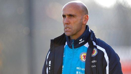 Braunschweigs Coach André Schubert (Archivbild).