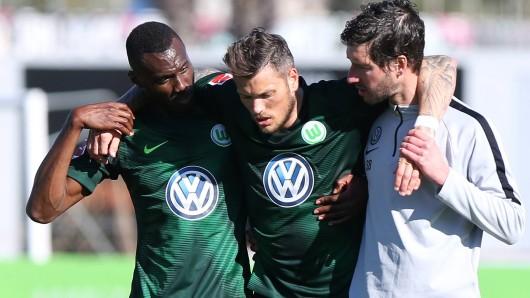 Daniel Ginzeck musste in der Partie gegen die Kroaten in der 36. Minute ausgewechselt werden.