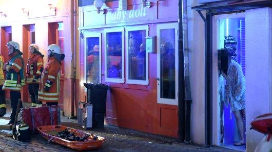 Die Feuerwehr musste am Montagabend zu einem Brand in der Bruchstraße ausrücken.