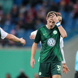 Für den VfL Wolfsburg setzte es im DFB-Pokal-Achtelfinale eine Pleite bei RB Leipzig.