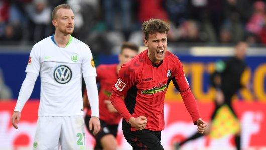 Der SC Freiburg konnte gegen den VfL Wolfsburg drei Rückstände ausgleichen.