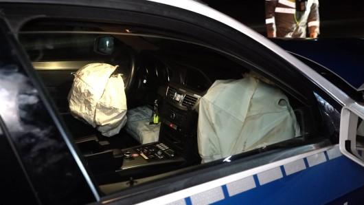 In Wolfenbüttel ist ein Polizeibeamter auf einer Einsatzfahrt verunglückt. (Symbolbild)(Symbolbild)