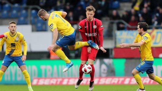 Am 23. Spieltag heißt es Braunschweig gegen Wehen.