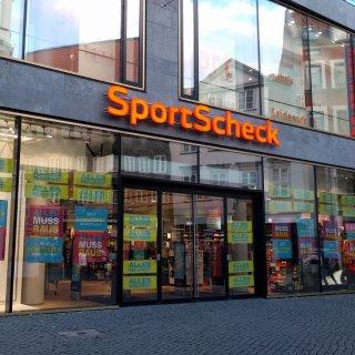 Sportscheck hat seit 2012 eine Filiale in Braunschweig.