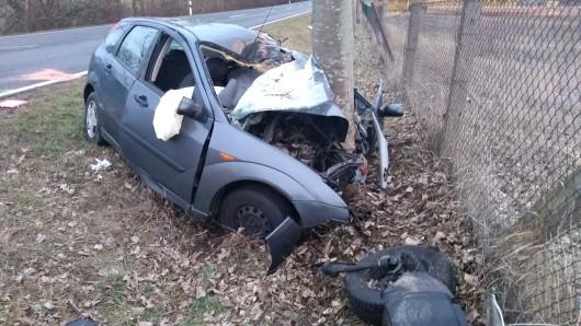 Die Ärzte konnten das Leben des Unfallfahrers im Harz nicht mehr retten.